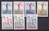 Paraguay   1960  sport  olimpiada  MI 834-840  MNH   w59