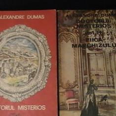 DOCTORUL MISTERIOS+FIICA MARCHIZULUI-AL. DUMAS-TRAD. NELI ARSENESCU-