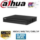 Cumpara ieftin DVR 16 canale Pentabrid Full HD compresie video H.265, Dahua XVR5116HS-X, HDCVI, AHD, TVI, CVBS + 8 canale IP pana la 6MP