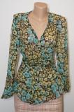 Bluza din matase Anna Sui multicolora, S/M, Maneca lunga, Multicolor