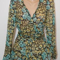 Bluza din matase Anna Sui multicolora