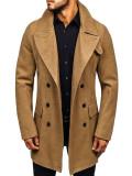 Palton de iarnă pentru bărbat camel Bolf 1048