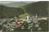 AMS# - ILUSTRATA/VEDERE MANASTIREA AGAPIA (JUD. NEAMT) -VEDERE GENERALA 1926, Circulata, Printata
