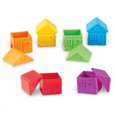 Joc de sortare - Casute colorate PlayLearn Toys