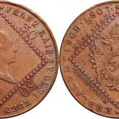 1807 - A - 30 kreuzer - Francis II - Imperiul Austriac