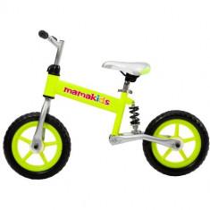 Bicicleta fara Pedale 12 inch Hit Verde