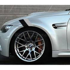Sticker ornament auto BMW Flag - Black/Gray