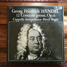 Handel - 12 Concerti Grossi, Op.6 (Box Set, 4 Viniluri)(Stare excelenta!)