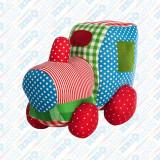 Cumpara ieftin Jucărie textilă Locomotivă, U-Grow
