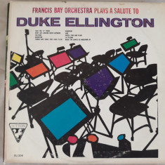 Francis Bay Orchestra plays a salute to Duke Ellington - Sutton  -  Vinyl vinil