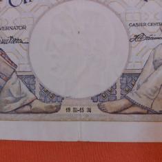 bancnote romanesti 500lei 1934