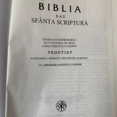 Biblia sau Sfanta ScripturaTeoctist - trad. Galaction revizuita 1997