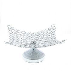Platou decorativ, cu cristale acrilic
