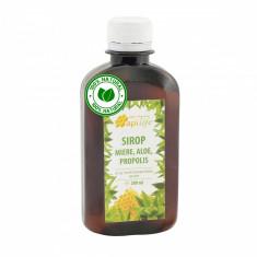 Sirop apiterapeutic cu miere, aloe si propolis - ApiLife - 200 ml