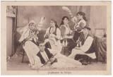 # 2269- Romania, Saliste carte postala necirc:ulata: Folklor, Sezatoare