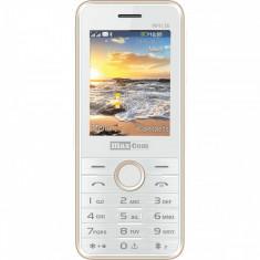 Telefon mobil MaxCom MM136 Dual SIM White Champagne
