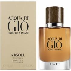 Apa de parfum Tester Barbati, ARMANI Acqua di Gio Absolu, 75ml, 75 ml