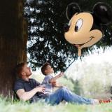 Balon gigant Mikey Mouse, figurina 3D din folie3D, 74x52 cm, aer si heliu
