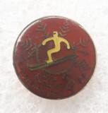 Insigna sport - Cupa Ziarului Steagul Rosu 1988
