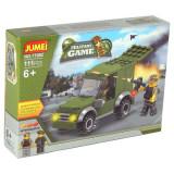 Jucarie constructii tip lego Camion militar 111 pcs