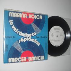 Melodii De DAN DIMITRIU: Marina Voica/MIRCEA BANICIU: Săptămâna (ST-EDC 10.756)