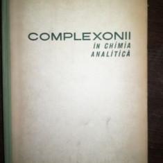 Complexonii in chimia analitica- Rudolf Pribil