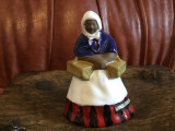 Vintage anii 60 -  Figurina deosebita din ceramica design K. Koutny / Batrana !