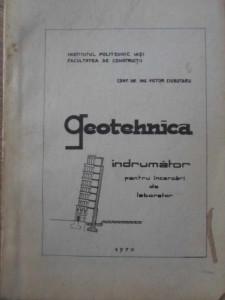 GEOTEHNICA INDRUMATOR PENTRU INCERCARI DE LABORATOR - VICTOR CIUBOTARU