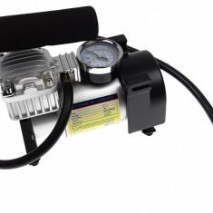 Compresor auto cu manometru de inalta precizie 12V (bricheta) - SUV, autobuz, camion
