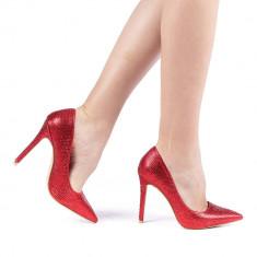 Pantofi dama Plont rosii