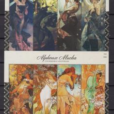 Micronezia   2014  pictura    2   blocuri  MNH  w59