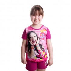 Pijama fete Soy Luna mov