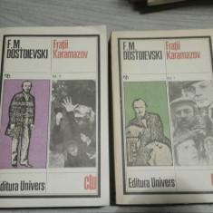 Fratii Karamazov (2 volume) – Dostoievski