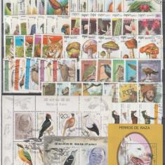 Lot timbre stampilate tematice, serii majoritatea complecte.