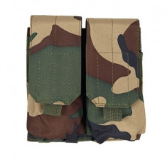 Portincarcator dublu M4/AK - Woodland [ACM]