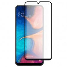 Folie Sticla Full Cover Premium pentru Samsung Galaxy A20 5D Full Glue Negru