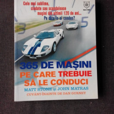 365 DE MASINI PE CARE TREBUIE SA LE CONDUCI - MATT STONE