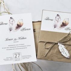 Invitatie nunta cu Pene 1153 1153