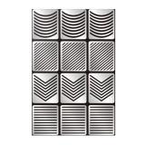 Sablon Umplere Vinyl Geometrice