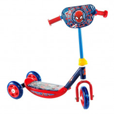 Trotineta pentru copii Spiderman, suporta 20 kg, 3 ani+