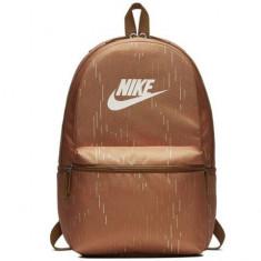 Ghiozdan rucsac Nike Heritage maro 43 cm