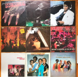 Col. viniluri - Scorpions, Jean-Luc Ponty, M. Jackson, Kate Bush, ABBA...