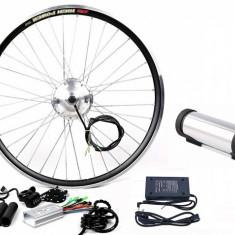 Kit conversie bicicleta electrica 36v 350w (roata fata); Baterie 10A inclusa