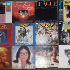 Vinil Elton John,Chris Norman,Human League,Dalida,Bill Haley