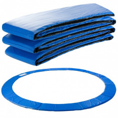 Acoperire cu margine de trambulină 366 cm albastră cu lățime de 29 cm