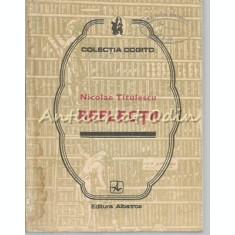 Reflectii - Nicolae Titulescu