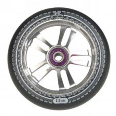 Roata Trotineta AO Mandala 110mm silver + Abec 7