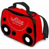 Geanta Lunch Bag Ladybird Trunki, Rosu