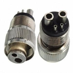 Cupla Adaptor Turbina dentara din 4 gauri - 2 gauri 4hole to 2hole