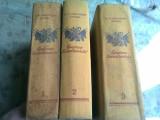 EPOPEEA SEVASTOPOLULUI 3 VOLUME , S. N. SERGHEEV-TENSKI , 1955